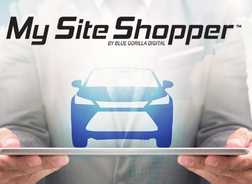 my site shopper product and man holding image of car
